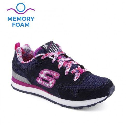 Pantofi sport fete Retrospect Floral - Skechers