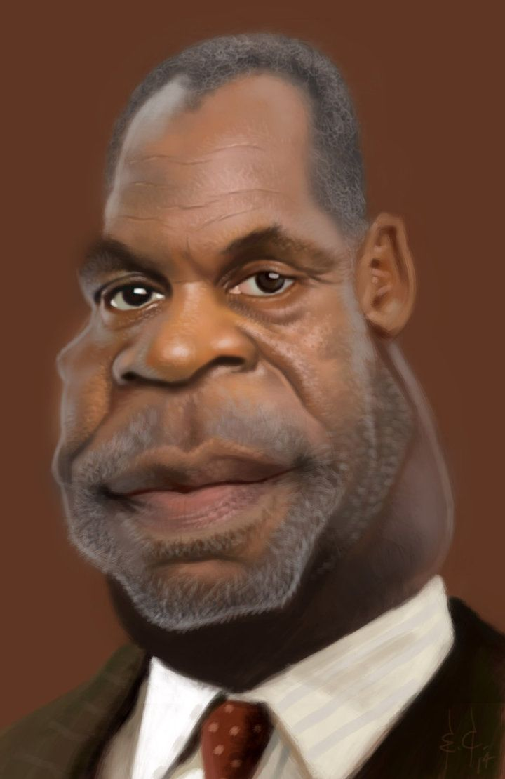 #Caricature: Danny Glover by StudioCandia - http://dunway.com/