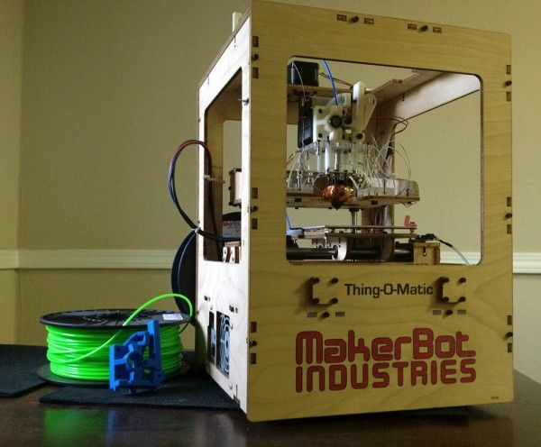 Top 6 Cheap & Affordable 3-D Printers--Makerbot Thing-O-Matic
