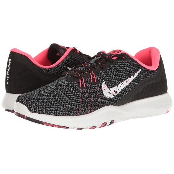 more photos 0bf37 7568b Nike Flex Trainer 7 BTS (Black White Racer Pink Dark Grey) Women s... ( 58)  ❤ liked on Polyvore featuring sho…   My Polyvore designs and favorite likes  ...