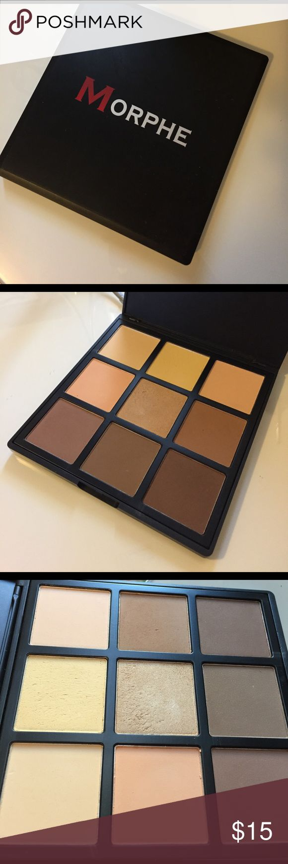 Morphe contour palette 9c Never used I only color swatch to test colors. I have to much makeup and it's just sitting there not being used. Makeup Bronzer