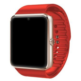 SmartWatch GT08 Pro Compatible con Iphone y Android Bluetooth-Rojo con Oro