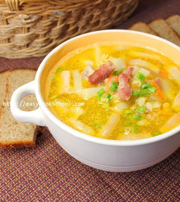 Гороховый суп с копченостями: пошаговый рецепт с фото | Легкие рецепты