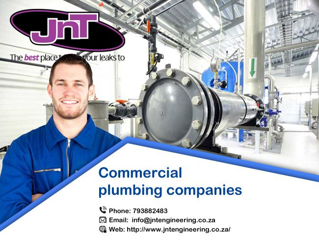 #CommercialPlumbing Companies – One Stop Destination for High-End @Commercial Projects JNT has a committed group of reliable and professional plumbers. http://bit.ly/2iH0Vqs