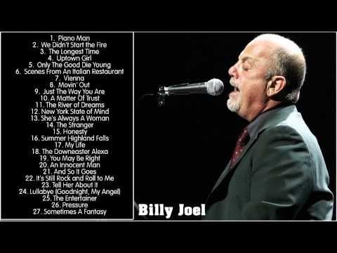 Best Songs Of Billy Joel (Full Album HD) || Billy Joel's Greatest Hits