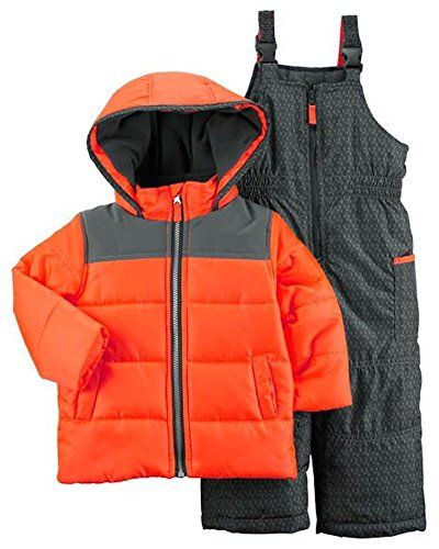 0c49c043a New Carter s Toddler Baby Boys Reflective Look 2-Piece Snowsuit 12 ...