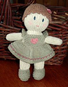 darling knit doll