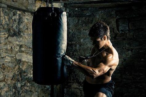 Exercices d'entrainements au sac de frappe de 15° partie: musculation à domicile
