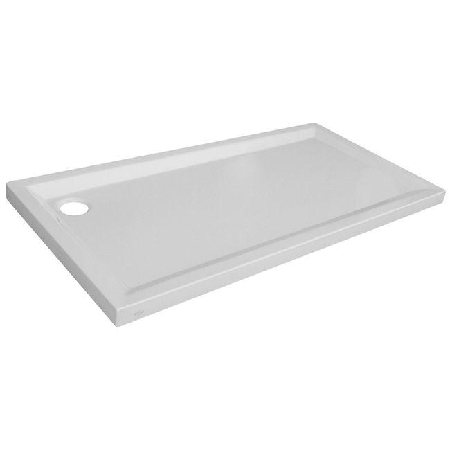Plato de ducha acrílico Houston rectangular, 160x70cm