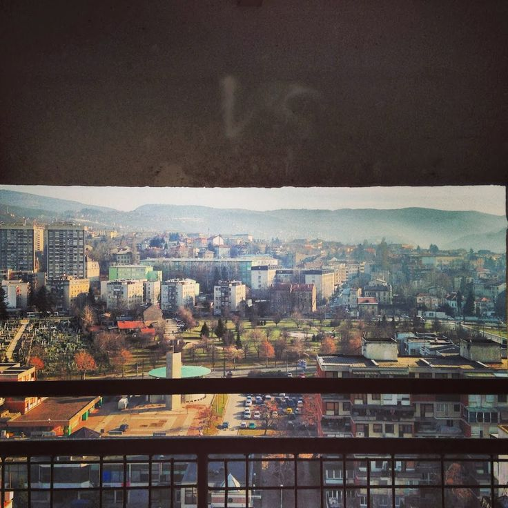 Sarajevo Top 5 - the view from Ciglane elevators || Read about my favorite places in #Sarajevo here: http://www.blocal-travel.com/balkans/sarajevo-top-5-html/