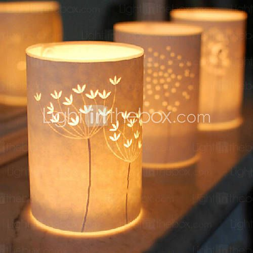 lampa podłogowa 1 lekki styl prosty wzór drzewo pergamin klosz 220v - USD $ 89.99