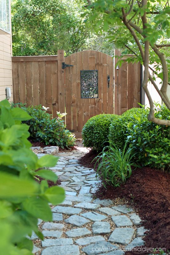 front yard garden ideas no grass simple small cheap diy gardens yards