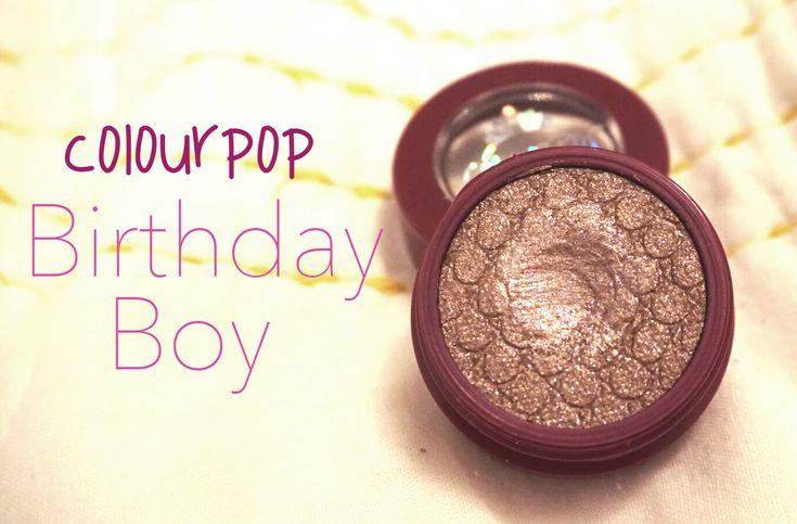 ColourPop Birthday Boy Super Shock Shadow