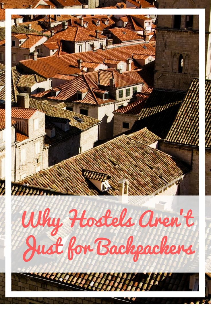 I always thought hostels were for young backpackers who partied, but this article proves that wrong. Here's why hostels aren't just for backpackers. Travel tips | travel advice | travel blogger