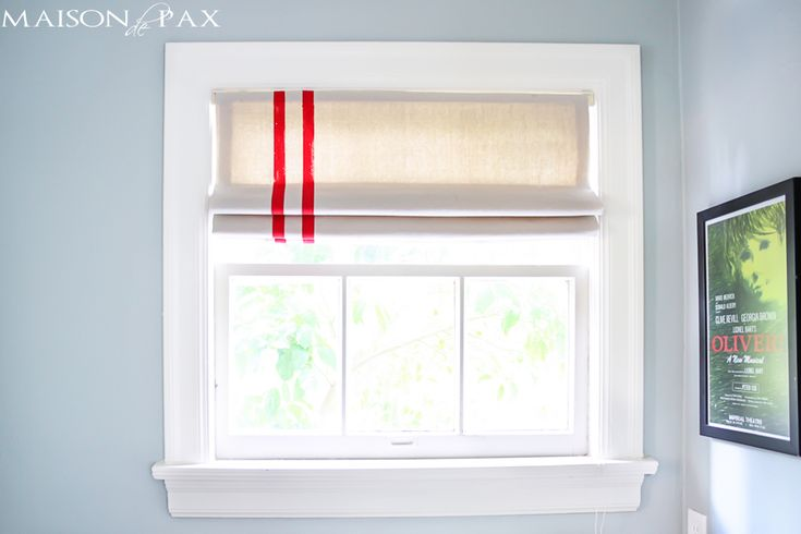 Mini Blinds to Roman Shades