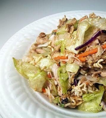 Fucks very asian chicken salade this woman