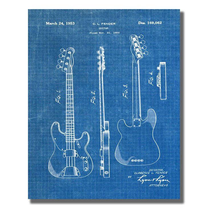 Fender Guitar US Patent Office