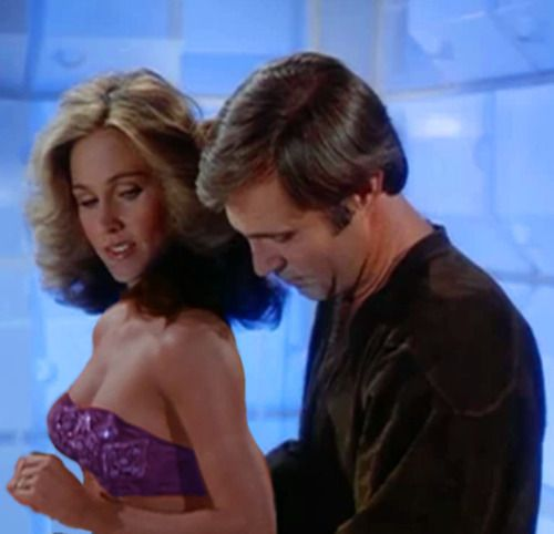 "Colonel Wilma Deering (Erin Gray) & Captain William ""Buck"" Rogers (Gil Gerard) - Buck Rogers in the 25th Century (1979)"