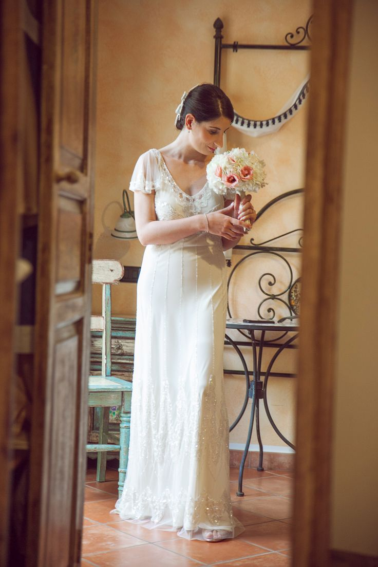 My wedding in Taormina Sicily-Foxglove wedding dress by Jenny Packham!