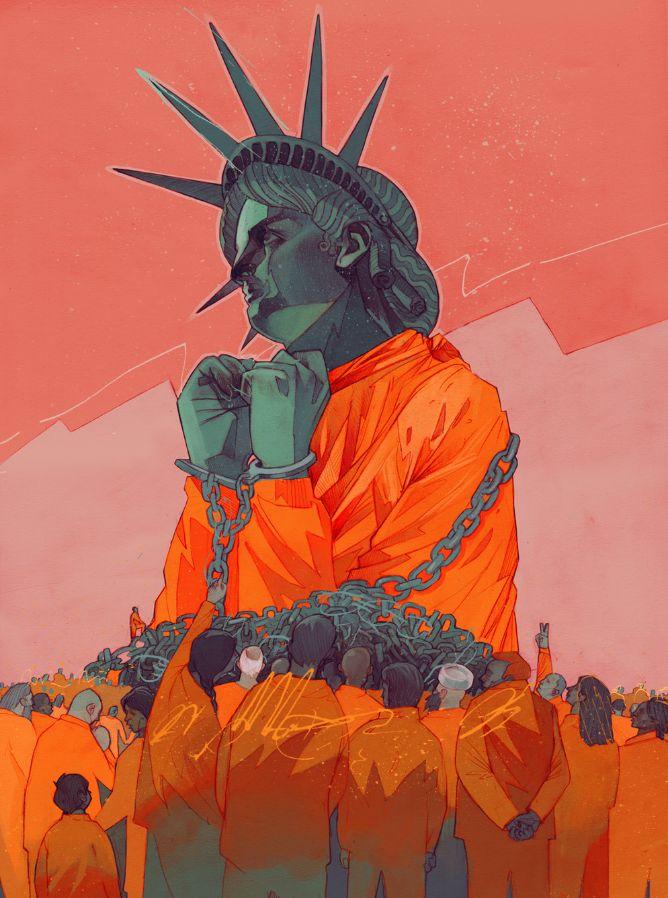 Guantanamo by Patryk Hardziej / client: Amnesty International USA // Odysseus Arms agency