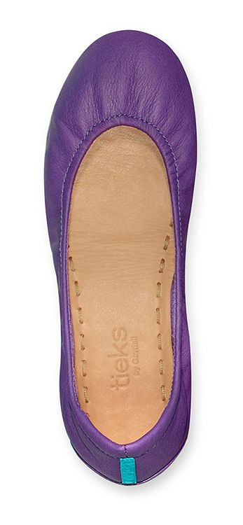 Add a playful flair to your wardrobe with Lilac Tieks! Bold and bright, these flats are sure to brighten your day and your look.