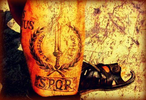 Roman Legion Tattoo Gl...