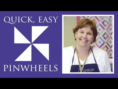 Learn How To Make A Pinwheel Block In The Blink Of An Eye With This Tutorial! – 24 Blocks