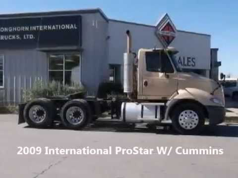 2009 International ProStar W/Cummins engine for sale at EquipmentReady, Price: $36,500.00  On-line marketplace for used commercial trucks, trailers and heavy equipment. http://equipmentready.com/sale/trucks #truck