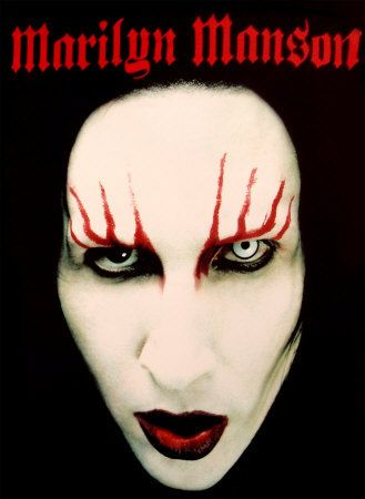 Marilyn Manson - Fabric Poster
