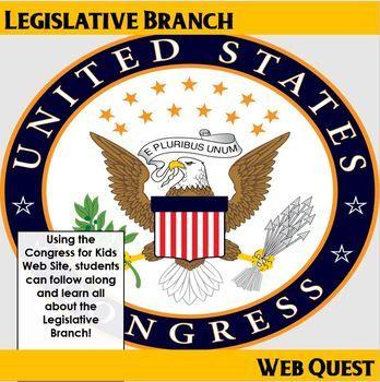 50 best us history tpt images on pinterest lesson planning legislative branch web quest fandeluxe Gallery