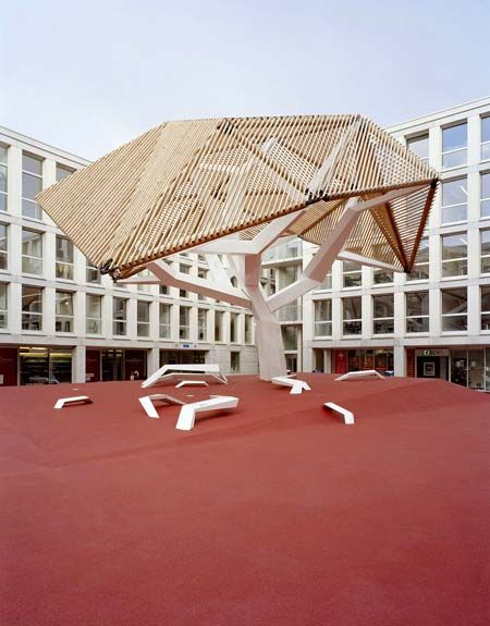 Oloom and Samuel Wilkinson, Arbre Canopy, Le Flon, Lausanne