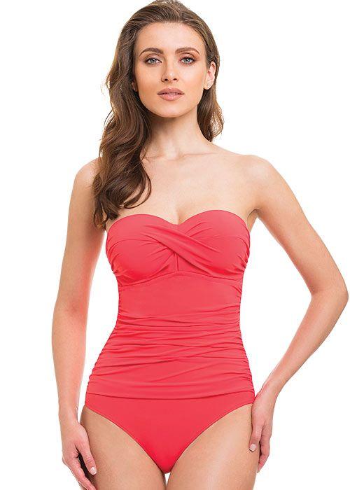 7e95273dce Gottex Profile Tutti Frutti Bandeau Swimsuit   Gottex Swimwear Beauties