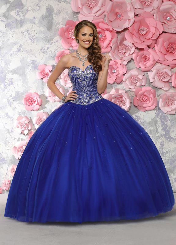 f27fa88b6d9c9 Quinceanera Dress #80295 in 2019   Blue Quinceanera Dresses ...