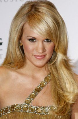 Country Music Artist Carrie Underwood Long Hair Style | Carrie-Underwood Hairsty