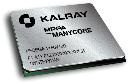 Présenté lors de la 2nde édition des Objets de la nouvelle France industrielle, le processeur hyperpuissant de Kalray : 256 coeurs de calcul, 3 milliards de transistors dans un circuit intégré de 3 cm2