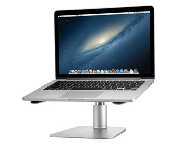 Twelve South HiRise Adjustable Stand Sitting at a desk, staring at your screen all day can be a real pain in the neck. Plop your Mac on an adjustable stand to help ease the pain. $70