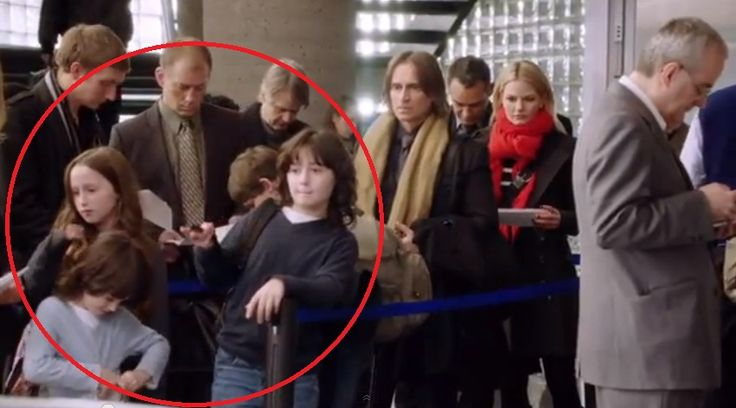 Robert Carlyle's kids on Once Upon a Time!