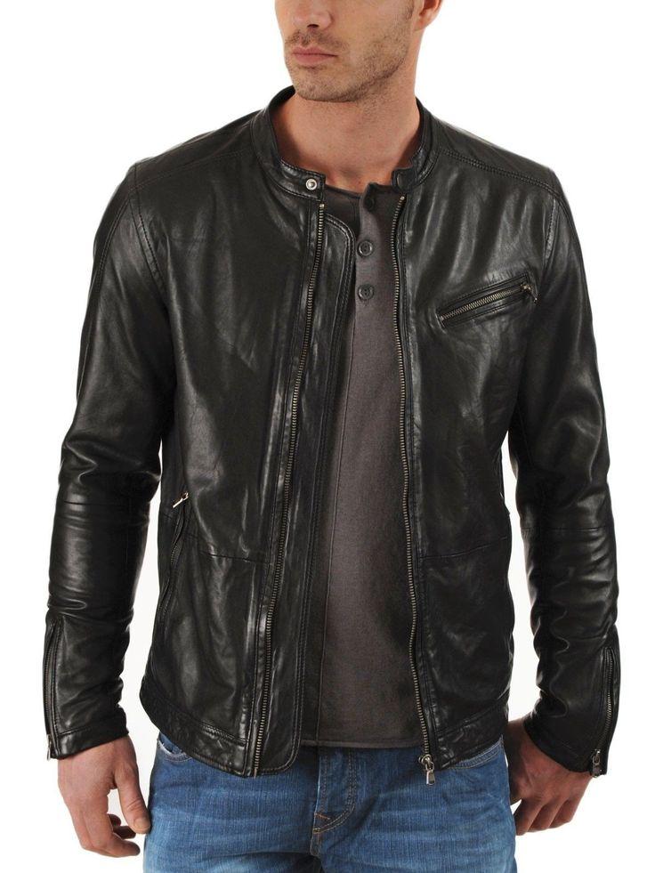 Abner Men Leather jacket
