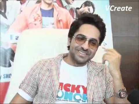 Ayushman Khurana's experience with Annu Kapoor - Vicky Donor.