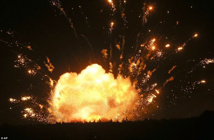 BeulalandBlog : Military sabotage? : 188,000 tons of ammunition go...