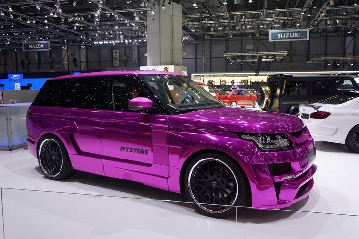 Hamann Pink Chrome Range Rover Sport Mystere