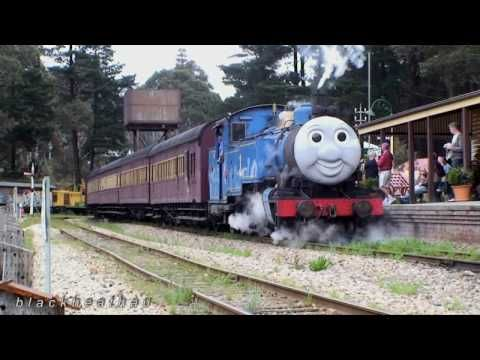 Zig Zag Railway - Friends Of Thomas Steam Train - YouTube