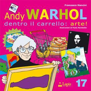 """Il nuovo volume di """"l'arte tra le mani"""" ci invita a scoprire il personaggio più tipico della pop art americana: Andy Warhol. Attraverso le sue creazioni ci accorgeremo come le immagini più comuni possano diventare simboliche, scegliendole tra quelle più famose del cinema, dei fumetti e della pubblicità. Entreremo nel supermercato della cultura di massa dove la zuppa di pomodoro è un'immagine interessante come quella di Marilyn Monroe. Tra scaffali e detersivi percorreremo con il nostro…"""