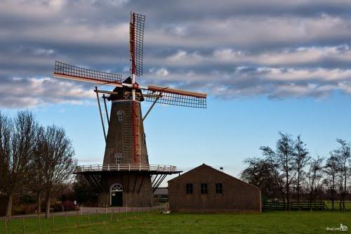 Windmill (Kamperland-Zeeland-Nederland)