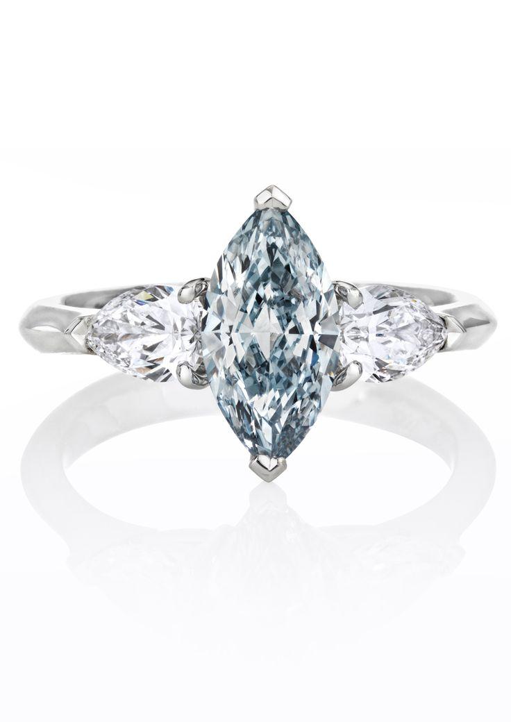 1000 ideas about blue diamond rings on pinterest blue