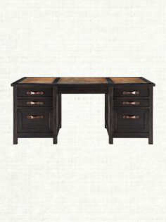 tremont executive desk arhaus home pinterest