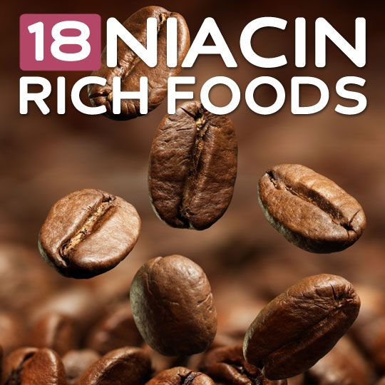 18 Foods High in Niacin- to meet your daily Vitamin B3 needs.