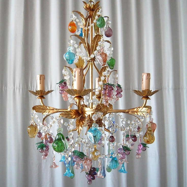 17 Best images about Fruit chandeliers – Fruit Chandeliers