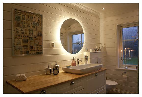 Waschbeckenunterschrank Rund : badrumsspegel,belysning,rund spegel,svedbergs,kommod  Badrum
