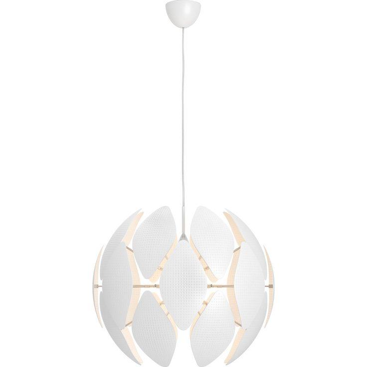Kunststoff, Weiß • Für 1 Leuchtmittel E27 max. 60 W • H: 208 cm, Ø: 59 cm ✓ Philips Pendelleuchte EEK: E-A++ Chiffon Weiß ➜ Trendpendelleuchten kaufen
